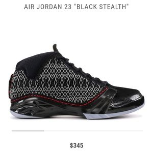 Air Jordan 23 Stealth (8.5) '08